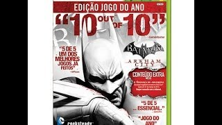 Batman Arkham City Goty Edition - Xbox 360 Unboxing (PT-BR)