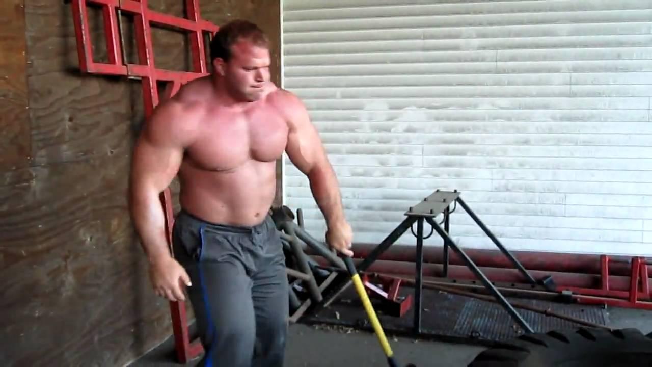 Derek Poundstone Sledge Hammer Work Youtube