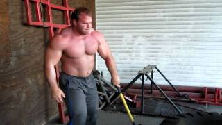 Derek Poundstone sledge hammer work