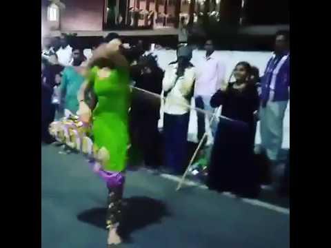 Jallikattu 2017 Our Tamil Muslim Sister playing Silambattam