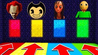 DO NOT CHOOSE THE WRONG PORTAL(PENNYWISE,BENDY,BALDI) (Ps3/Xbox360/PS4/XboxOne/PE/MCPE)