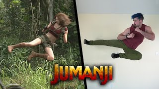 Stunts From Jumanji In Real Life (Parkour)