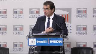 Conférence de presse du Président Christian Jacob du 19/12/2017