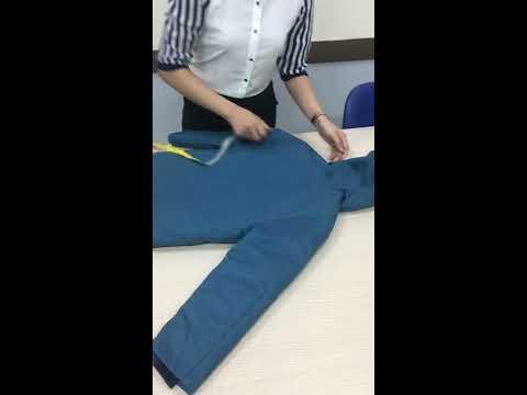 Hướng Dẫn đo Thông Số áo Jacket (Columbia)