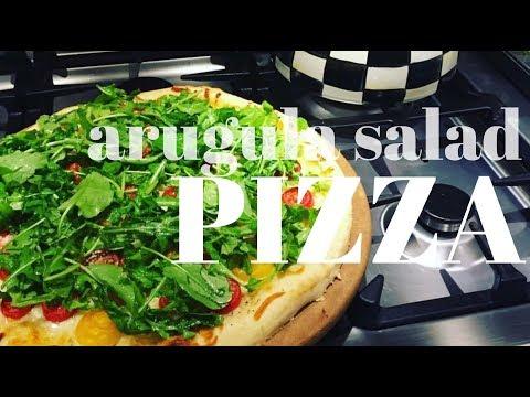 ARUGULA SALAD PIZZA | My Favorite Pizza Recipe