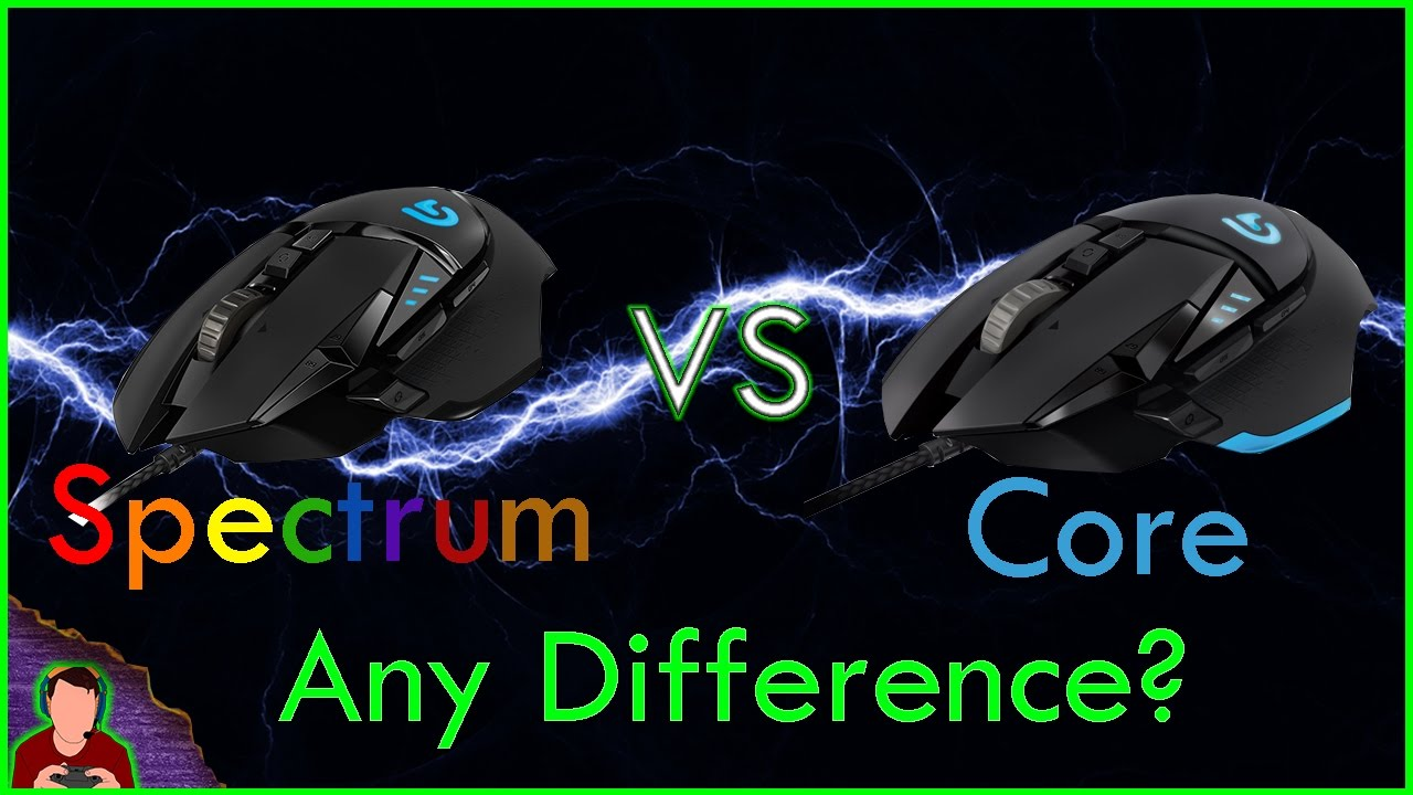 bf3d2a6f560 Logitech G502 Proteus Spectrum Vs G502 Proteus Core | Which To Buy? | Is  There A Difference?
