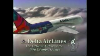 1995 Delta Airlines Commercials for the 1996 Olympics