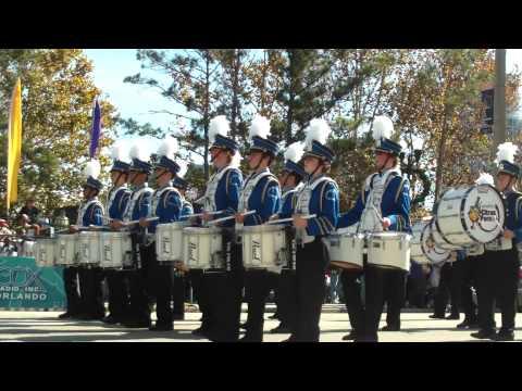 Orlando Citrus Parade 2009:  Acton Boxborough Regional High School, Acton MA