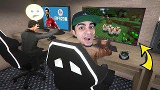 محاكي مقهى الألعاب #8 : بديت اسوي اشياء ممنوعة Internet Cafe Simulator !!