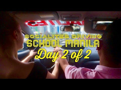 Socialites Excellent Driving School Manila Day 2 of 2: 3 Hour Manual Driving Lesson