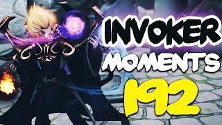 Dota 2 Invoker Moments Ep. 192