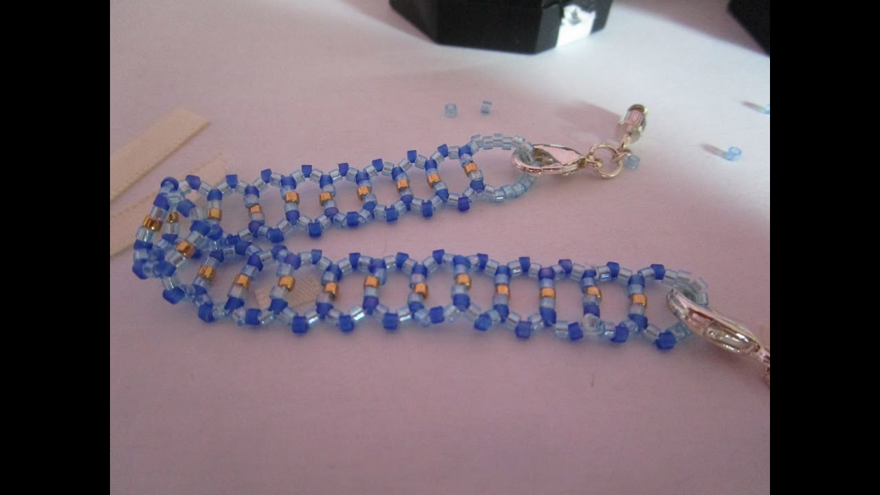 modele collier perle de rocaille