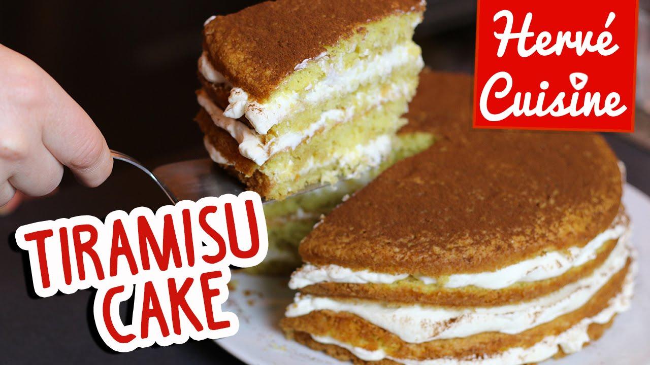 """Recette du Gâteau """"Tiramisu Cake"""" pour la fête des mères YouTube"""