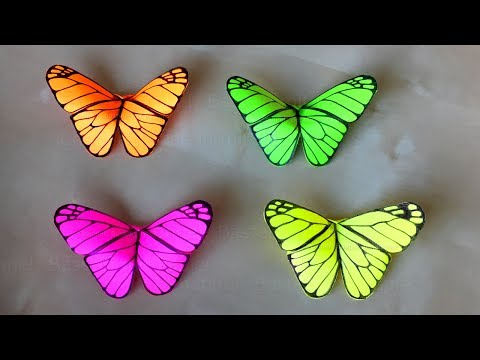 Origami Schmetterling Basteln Mit Papier Deko Fur Zimmer Selber