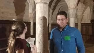 Impresiones sobre la visita teatralizada nocturna al Fitero Cisterciense