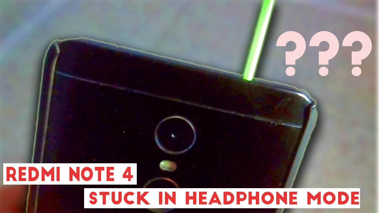 Xiaomi Redmi Note 4 Headset Issue Resolved Headset Icon On