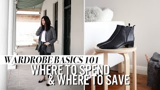 WARDROBE BASICS 101: Where to Spend and Save | Mademoiselle