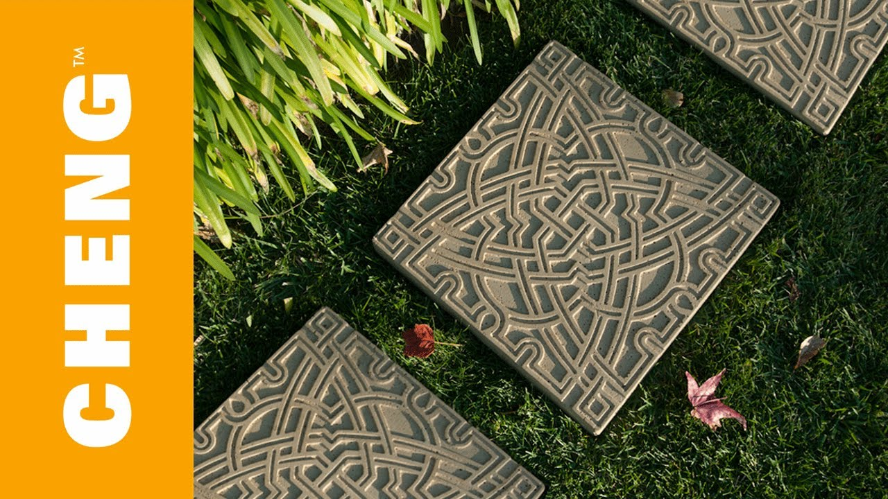 Make Diy Garden Stepping Stones With Cheng Outdoor Concrete Mix You