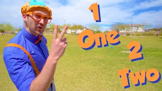 Learn To Count With Blippi | Blippi Learning Numbers 1 to 10 | Educational Videos For Toddlers