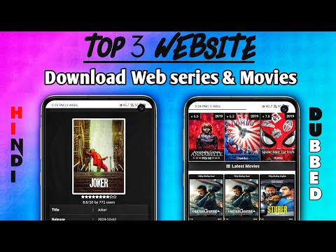 Top 3 Website To Download Movies & Web Series || Download New Hollywood & Bollywood Movies Full HD