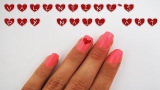 Милый маникюр на день Cвятого Валентина/Valentine`s day nail art♡/HelloPolly