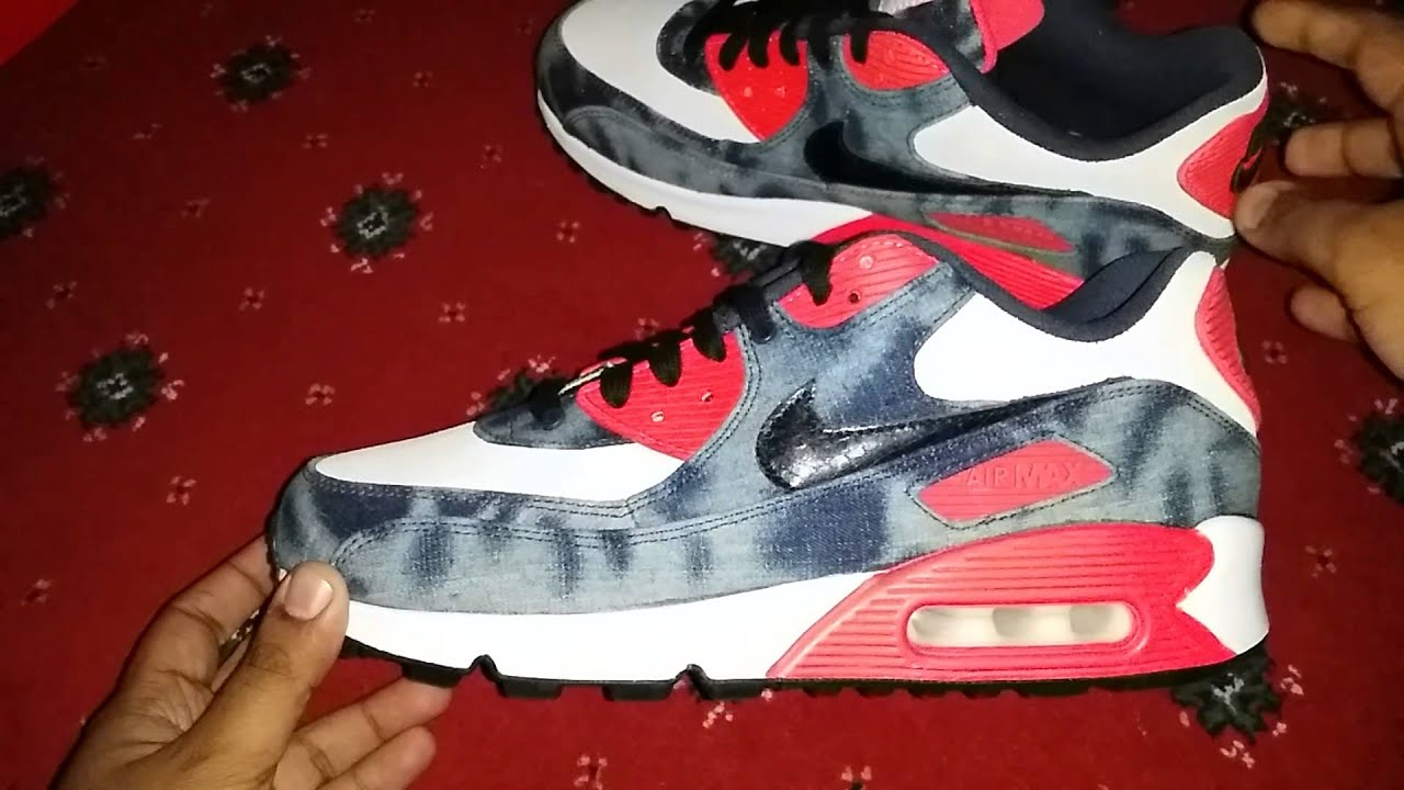 new product 9f394 3f3bf ebay nike air max 90 dnm qs bleached denim more sneakers 89964 115a4