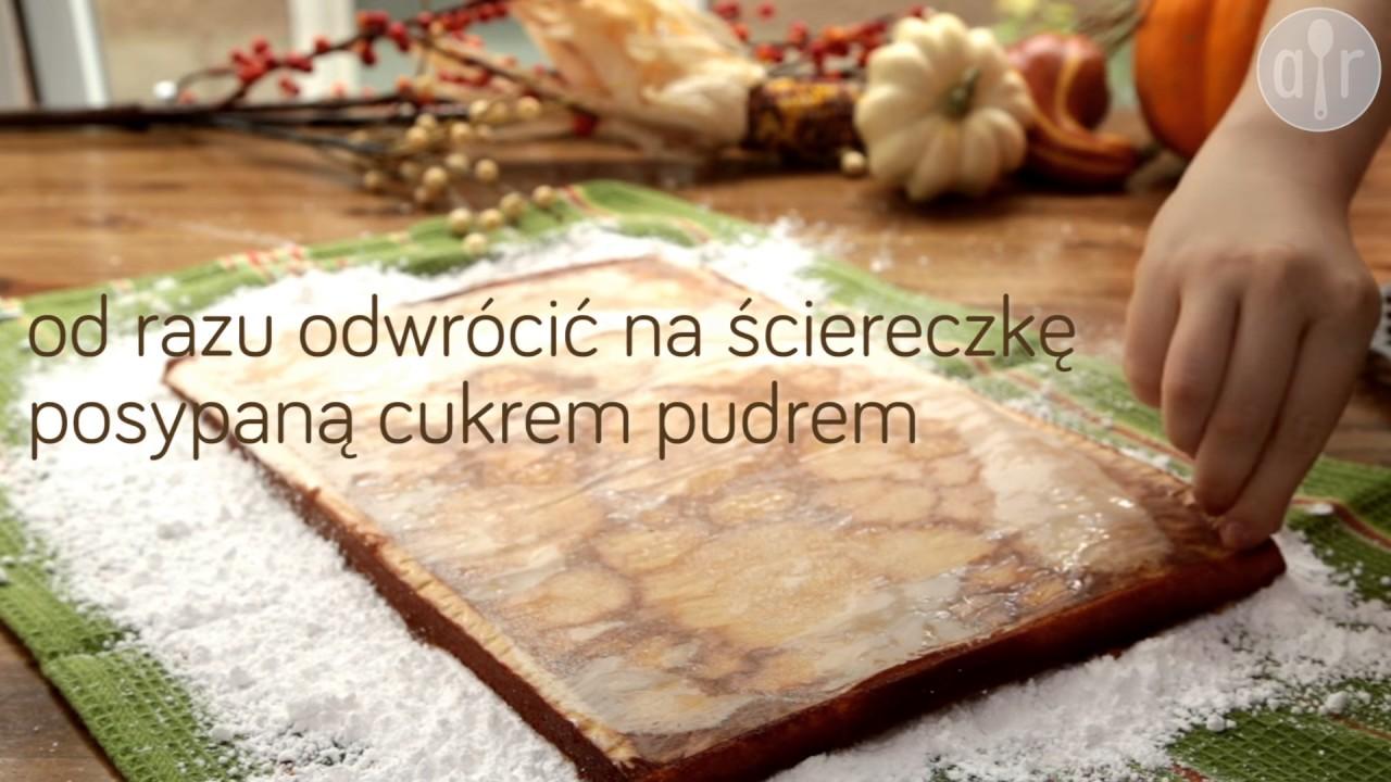 Rolada dyniowa z orzechami włoskimi – Allrecipes.pl