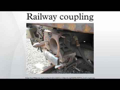 Railway coupling
