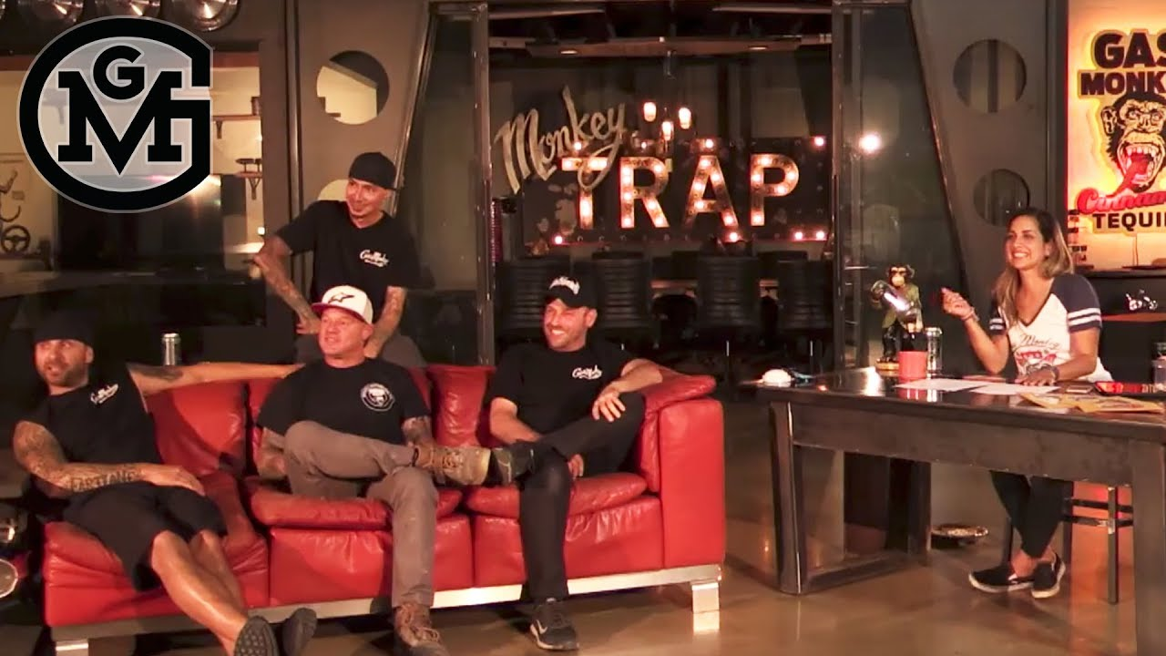 3cbd424bb004 Mike Coy S Pie Face Punishment - Gas Monkey After Hours Live Ep1 ...