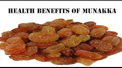 मुनक्का के फ़ायदे | Health benefits of Munakka (Raisins) for cold, cough &  healthy heart