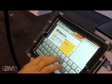 InfoComm 2013: DisplayNote Talks About its Presenter Software