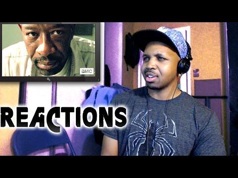 REACTIONS: Walking Dead Season 6 SDCC Trailer | Rick VS Morgan??