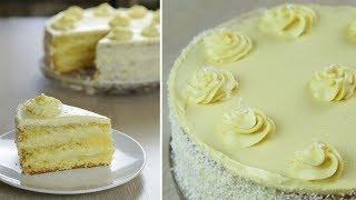 Торт на НОВЫЙ ГОД Нежный и Легкий Торт НЕЖНОСТЬ с кремом Пломбир БЮДЖЕТНЫЙ торт