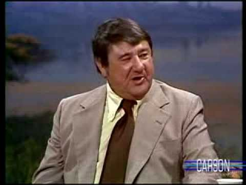 Buddy Hackett's Mor is Worst Cook, Johnny Carson, 1977
