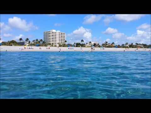 Vacation in Florida - July 2014 - West Palm Beach, Delray Beach & Marlins Park, Miami