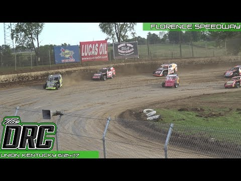 Florence Speedway | 6/24/17 | American Modified Series | Heat 2