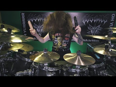 Joe Geis - Watch Drummer Tackle AC/DC With Sex Toys