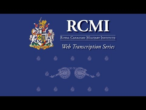 July 11 2017: The RCMI discusses Canada's Defence Policy Review, Part One