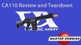 Review and teardown of the Classic Army ARS2 aka M110 aka SR25.