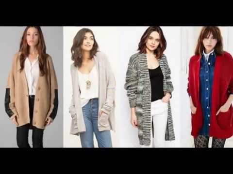 Модные кардиганы осень-зима 2017-2018