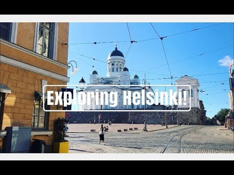 Exploring Helsinki, Finland for a weekend!