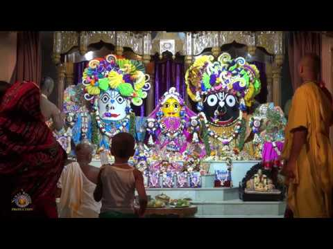 2017 Adhivas Ceremony for the Snana Yatra Festival at Rajapur Jagannath Temple