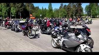 Motoristikirkko Sotkamossa ja päiväretki Paltamoon 27.5. 2018