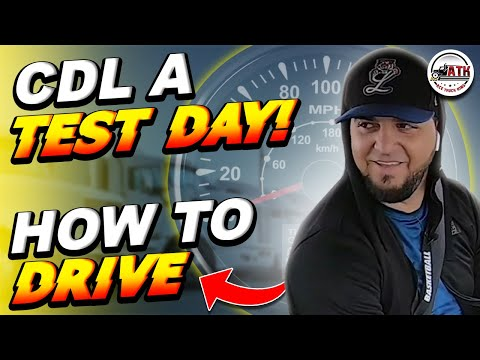 ✔️ 10 speed shifting CDL Road Test - ✍ How to Pass (Proper driving tutorial)