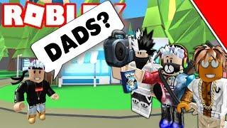 ROBLOX ADOPT ME - MY DAD LEFT ME! (PARENT WARS) EP.2