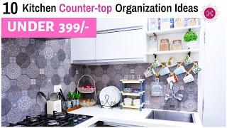 10 Kitchen Organization Ideas - Countertop Organization / Kitchen Decor Tips / Home HashTag Life