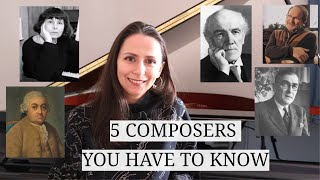 5 UNDERRATED COMPOSERS YOU HAVE TO KNOW