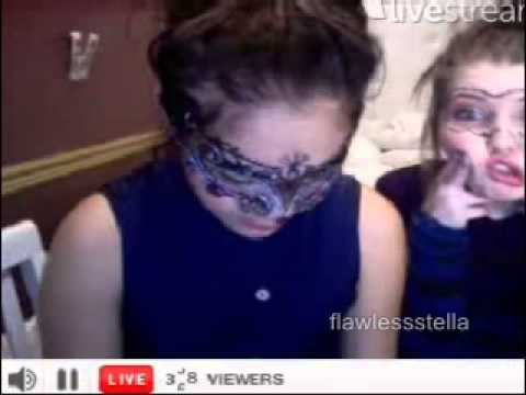 Stella Hudgens & Sammi Hanratty TwitCam 03.29.13 Part 4