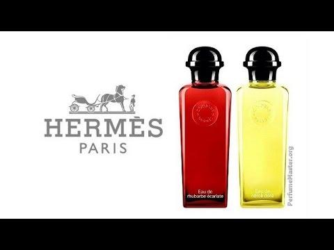 Hermes Rhubarbe Ecarlate Neroli Dore Perfumes Youtube