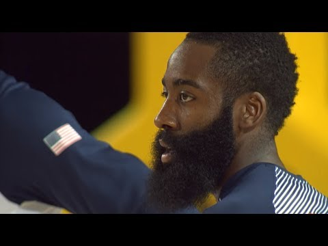 CRAZY New Zealand's Haka v USA @ 2014 FIBA Basketball World Cup